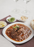 Delicious mutton curry — Foto Stock