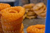 Delicious jhangri jalebis — Stock Photo