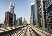 Dubai Metro — 图库照片