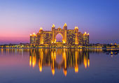 Atlantis Hotel in Palm Jumeirah, Dubai — Stock Photo