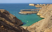 Beautiful beach in Muscat, Oman — Stock Photo