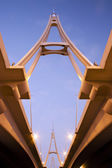 Business Bay Bridge in Dubai, UAE — Foto Stock