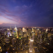 Manhattan Sunset — Stock Photo