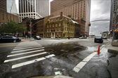 Fraunces Tavern after Irene — Stock Photo