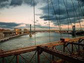 Bruggen van east river — Stockfoto
