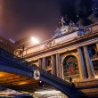 Grand Central Terminal at night — Stock Photo