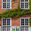 Facade in the Dutch Quarter, Potsdam — Stock Photo