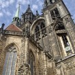 Exterior of the Cathedral ofMeissen — Stock Photo