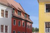 Stare domy w miśni — Zdjęcie stockowe