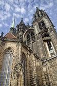 Utsidan av domkyrkans ofmeissen — Stockfoto