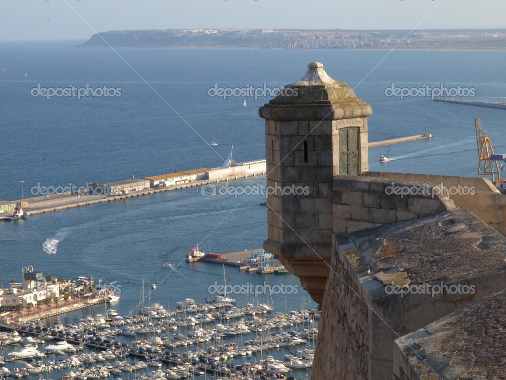 Fortress in Alicante — Stock Photo © ManuelHurtado #15427033