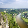 The River Elbe at Rathen — Stock Photo