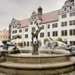 Stock Photo: Torgau Market Square