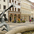 Fountain in Torgau — Stock fotografie #18658355