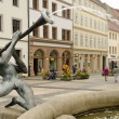 Fountain in Torgau — Stockfoto #18658355