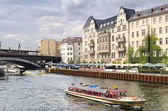 Spree River in Berlin — Stock Photo