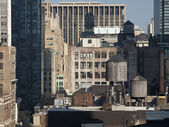 Rooftop Water Tanks — Foto Stock