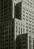 Skyscrapers in Black and White — Stock Photo
