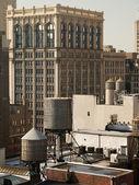 New york city dachy — Zdjęcie stockowe