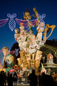 Falla at Night — Stock Photo