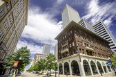 Fifth and Main Street, Tulsa — Stock Photo