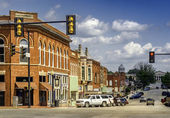 Street in Guthrie — Stock Photo