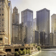 East Wacker Drive — Stock Photo