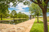 Pool of the Oklahoma National Memorial — Stock Photo