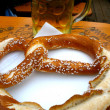 Beer and Pretzel — Stock Photo #13296222