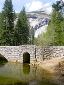 Yosemite Bridge — Stock Photo