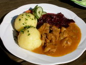 German Meal — Stock Photo