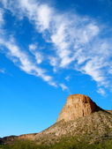 Sky Over Desert Mountain — Stock Photo