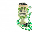 St. Patty's Day Coffee Cup — Stock Photo #18693709