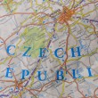 Map of Prague — Stock Photo