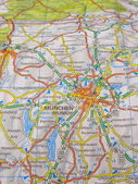 Map of Munich — Stock Photo