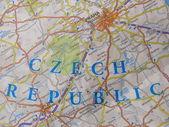 Mapa de praga — Foto de Stock