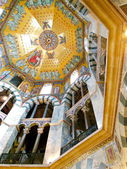 Aachen Cathedral Ceiling — Stock Photo