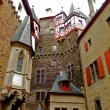 Burg Eltz Courtyard — Stock Photo