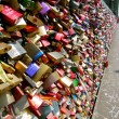 Line of Love Locks — Stock Photo #29805815