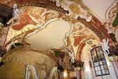 Bóveda barroca de la universidad de — Foto de Stock