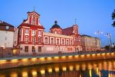 барокко библиотека в вроцлав — Стоковое фото