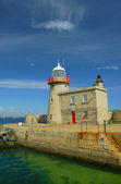 Lighthouse in Howth — Stock Photo