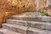 Bale, Croatia. The historic alleys — Stock Photo