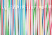 Background from drinking straws — Stock Photo