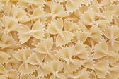 Texture of farfalle pasta — Stock Photo