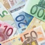 Euro banknotes background — Stock Photo #28464167