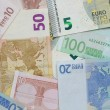 Euro banknotes background — Stock Photo #28460951