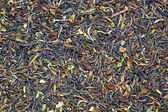 Textuur van gedroogde thee — Stockfoto