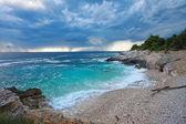 Croatia, Istria. Beautiful beach on Kamenjak — 图库照片