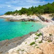 Croatia, Istria. Beautiful Blue Bay — Stock Photo #28653949
